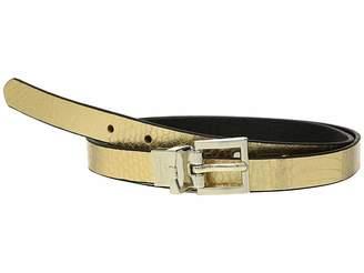 Kate Spade 19mm Metallic Snake Reversible Belt