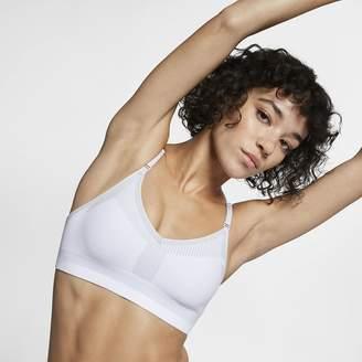 Nike Women's Medium Support Sports Bra Flyknit Indy Tech Pack