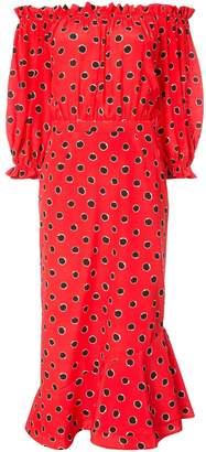 Saloni Grace Off The Shoulder Dress
