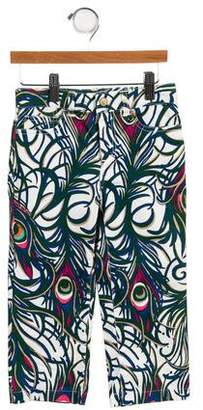 Lilly Pulitzer Girls' Cropped Abstract Pants