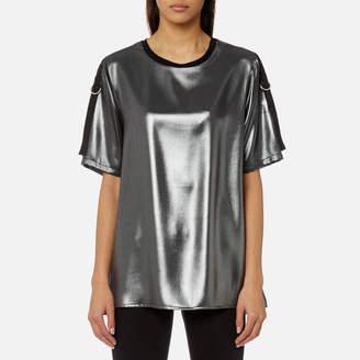 Versace Women's Metallic T-Shirt