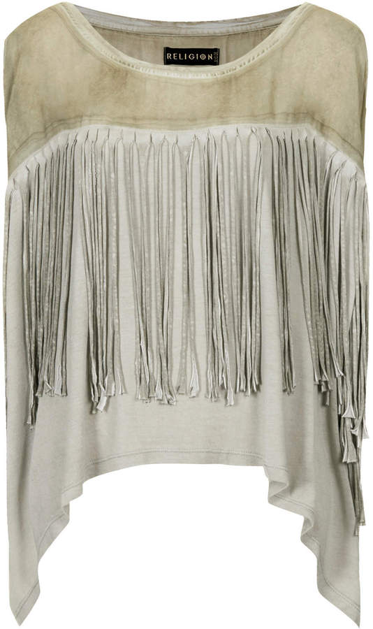 Topshop **Demonic Kaftan Top by Religion