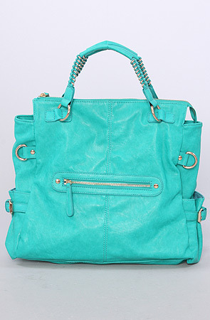 Urban Expressions The Blake Bag in Turquoise