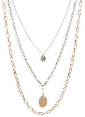 BP Triple Layer Necklace