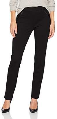 e0d828174 Rafaella Women's Ponte Comfort Fit Slim Leg Pants