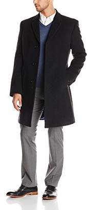 Tommy Hilfiger Men's Barnes Single Breasted Walker Coat