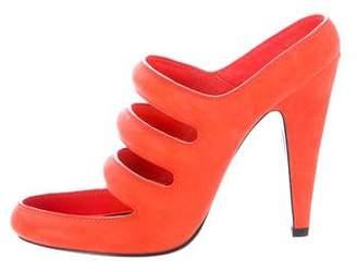 Alexander Wang Suede Chelsie Sandals w/ Tags