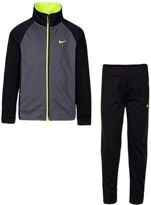 Nike Boys 4-7 Raglan Zip Track Jacket & Pants Set