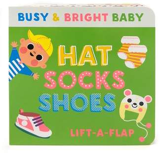 Blay Scarlett Wing; Amy Blay; Cottage Door Press Hat, Socks, Shoes: 5 Color Lift a Flap (Board Book)