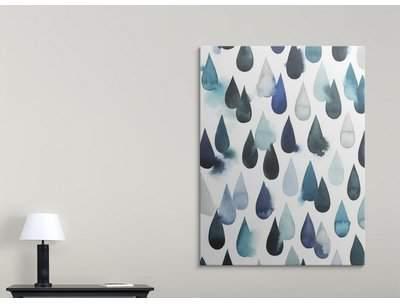 Wayfair 'Water Drops I' Hyden Graphic Art Print