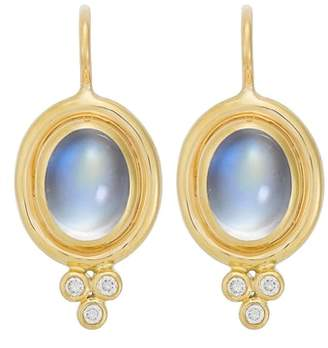 Temple St. Clair Semiprecious Stone & Diamond Drop Earrings