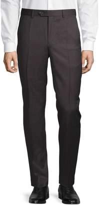 MICHAEL Michael Kors Slim Fit Wool-Blend Flat Front Pants