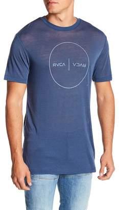 RVCA Flipped Perimeter Logo Tee