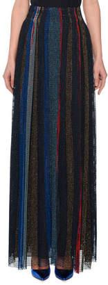 Missoni Striped-Metallic Long Skirt