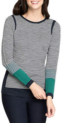 Nic+Zoe Striped Pullover Top