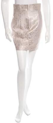 L'Wren Scott Floral Tweed Midi Skirt w/ Tags