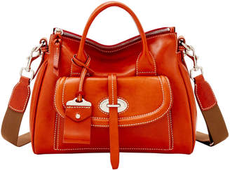 Dooney & Bourke Florentine Toscana Small Front Pocket Satchel