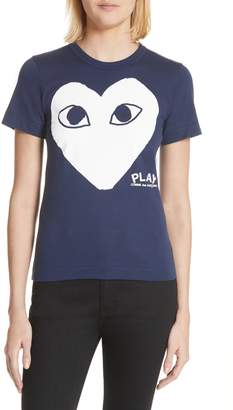 Comme des Garcons Big Heart Graphic Tee