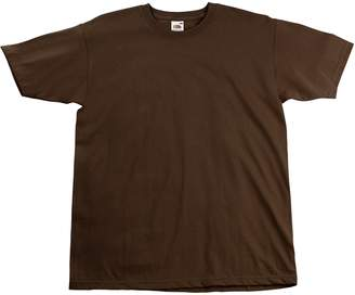 Fruit of the Loom Mens Super Premium Short Sleeve Crew Neck T-Shirt (XL)