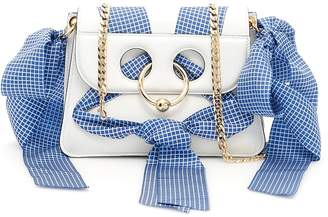 J.W.Anderson Mini Pierce Leather Bag With Ribbons