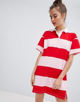 Pull&Bear stripe rugby dress