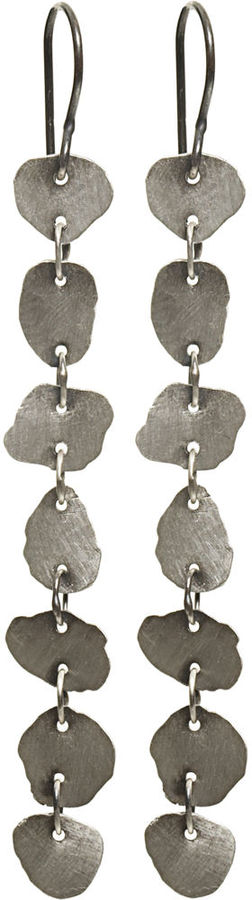 Ninh Wysocan Dangling Disc Earrings