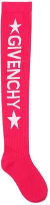 Givenchy Logo Intarsia Knit Long Socks
