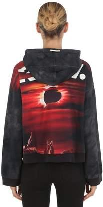 G Star By Jaden Smith Cheiri Eclipse Hooded Cropped Sweatshirt