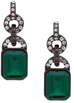 Ralph Lauren Faceted Link Drop Earrings