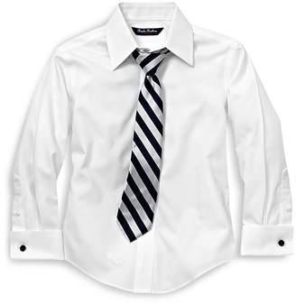 Brooks Brothers Boys' French Cuff Dress Shirt - Little Kid, Big Kid
