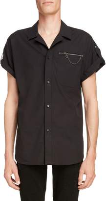 Givenchy Zip Pocket Woven Shirt