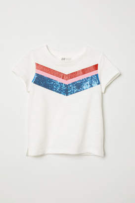 H&M Boxy T-shirt - White