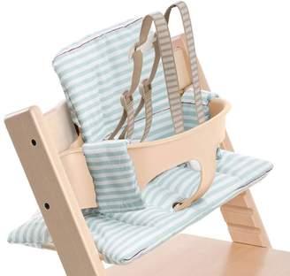 Stokke Tripp Trapp High Chair Cushion - Aqua Stripes