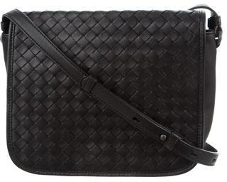 Bottega VenetaBottega Veneta Small Intrecciato Flap Bag