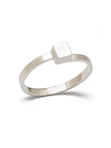 Styleserver DE Jonathan Radetz Ring Cube Silber 54
