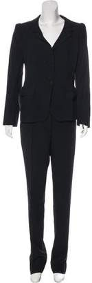Prada Structured Straight-Leg Pantsuit