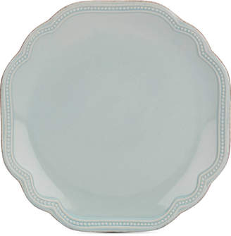Lenox French Perle Bead Ice Blue Accent/Salad Plate