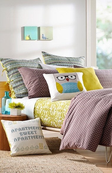 Nordstrom 'Sweet Apartment' Embroidered Accent Pillow