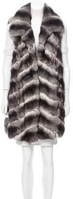 J. Mendel Chinchilla Fur Vest