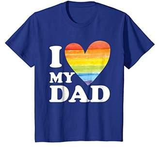 I Love My Gay Dad LGBT T-Shirt