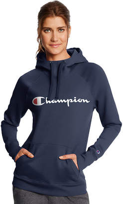 Champion Fleece Po Hoodie Gc Long Sleeve Hooded Neck T-Shirt-Womens
