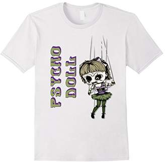 Psycho Doll Creepy Marionette t-shirt