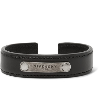 Givenchy Leather Cuff $325 thestylecure.com