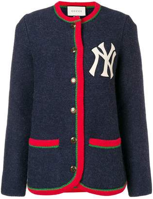 Gucci Cardigan with New York Yankees TM patch