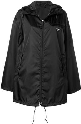 Prada zipped up raincoat
