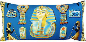 One Kings Lane Vintage HermAs Tutankhamun Silk Scarf Pillow