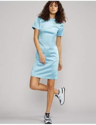 Cynthia Rowley Lake Shore Stretch Satin Dress