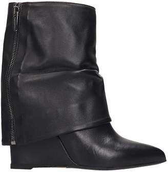 The Seller Ankle Boots In Black Leather