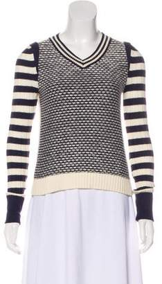Tory Burch Knit V-Neck Sweater