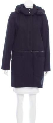 Zac Posen Parker Convertible Coat